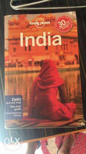 Lonely Planet India Book