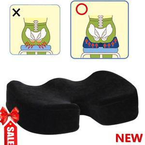NEW COCCYX ORTHOPEDIC SEAT Comfort Memory Foam Office Car