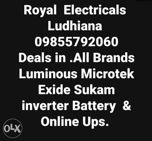 New Batteries In Easy Installments. All Leaing