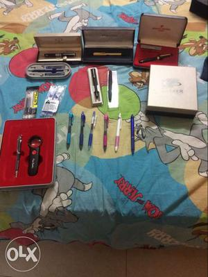 Pen collection of top brands.Individual prices in