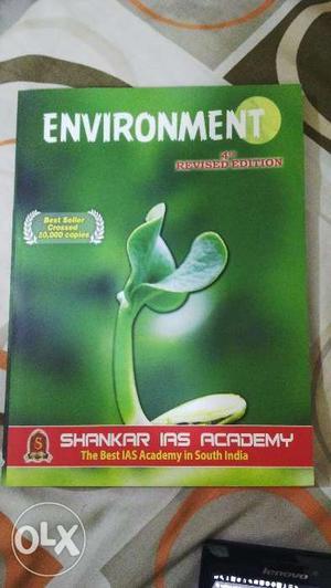 Shankar Environment Book for IAS Untouched