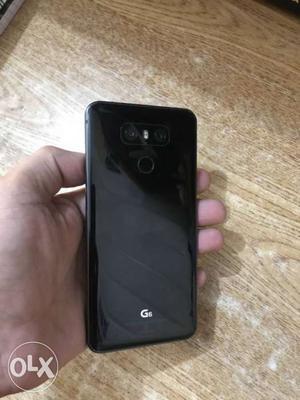 Lg G6 Black 1month old