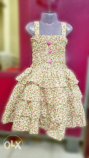Gd quality cotton baby girl dresses with