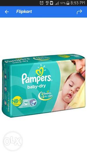 Pampers Baby-dry Diaper Package Screenshot
