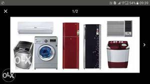 Ac, Fridge, washing machine service