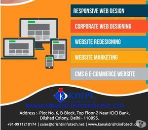 Creative Web Designing & Development Tactics Delhi