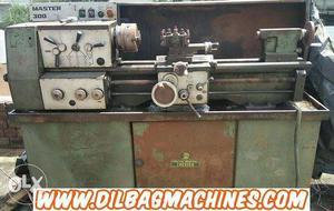 Lathe belt grinding polishing & cnc machine