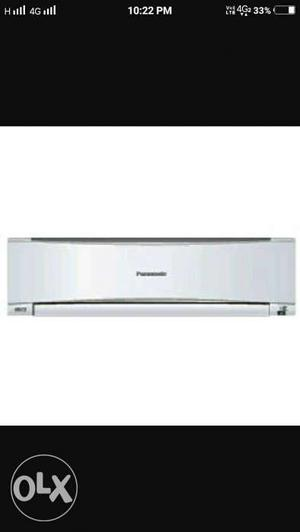 New panasonic air conditioner just used 3 months