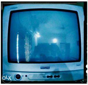 """Philips 14"""" Color Television With Remote Control"""