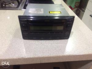 Toyota fortuner music system.very less used just