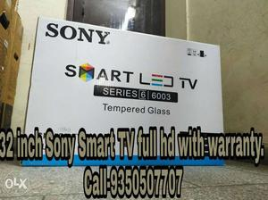 32 inch Sony SMART LED TV Box full hd with warranty