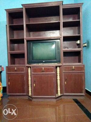 A cupboard made of teak and plywood for sale