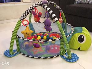 Baby Play Gym Mat Grow With Me 3 in 1 Baby