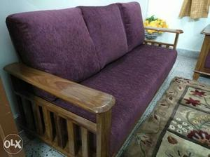 Brand new sofa 3+1+1 seater made with pure