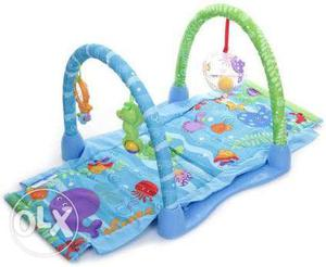 Fisher price ocean wonder Blue And Green Activity Gym