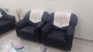 Rexine Sofa 3 + 2 seater for sale