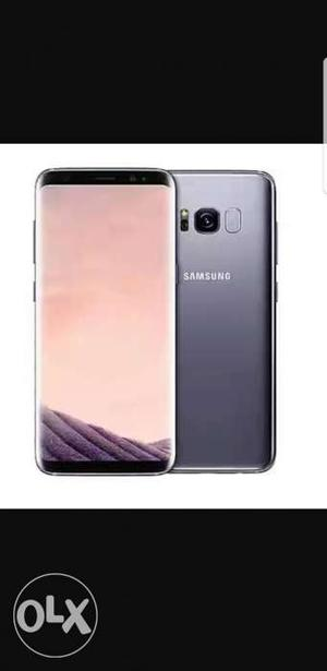 Samsung Galaxy S8 Orchid Grey 1 Month Old