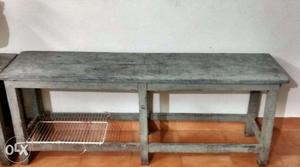 Teak Wood Bench - Long Size