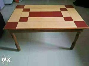 Teakwood center table in excellent condition