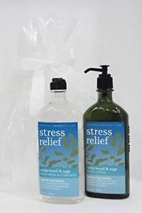 Bath And Body Works Stress Relief Cedarwood & Sage Body