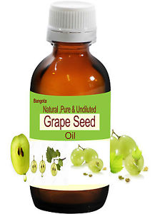 Grape Seed Oil - Natural, Pure & Undiluted - 100 ml
