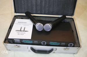 Professional Shure LX88-III VHF wireless dual Microphone