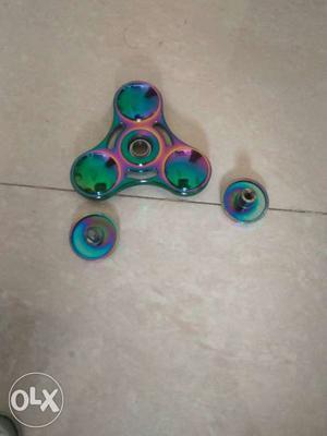 Rainbow Fidget Hand Spinner