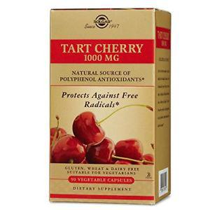 Solgar Tart Cherry Vegetable Capsules,  mg, 90 ct