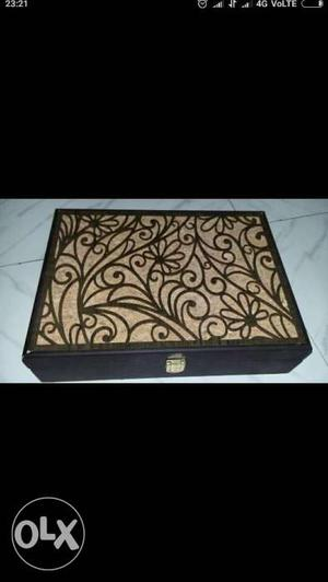Dry Fruit Chocolate And Jewellery Box.. Multi