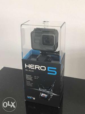 GoPro HERO 5 Black Edition - 4K HD - Waterproof