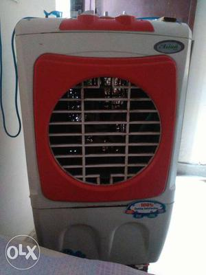 Gray And Red Evaporative Air Cooler