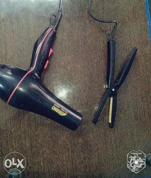 Hair Dryer and Hair Straightener in perfect