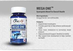 Omega 3 fish oil rich with EPA & DHA