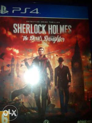 Sherlock Holmes PlayStation 4 Game Case