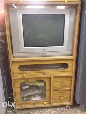 TV Stand and 21 inch LG TV in Very Good Condition