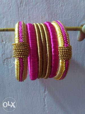 These bangles suits to all kind of dresses