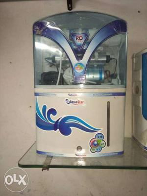 White And Blue AquaStar Water Purifier