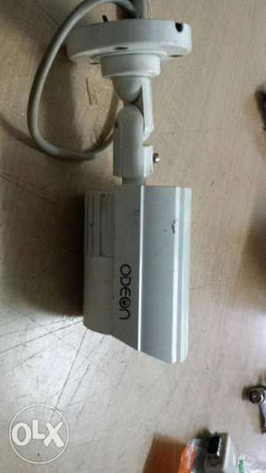White Odeon CCTV Camera