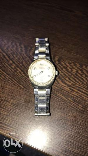 A Fossil Ladies Watch, Hardly Used.
