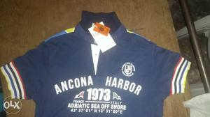 Blue Ancona Harbor Polo Shirt