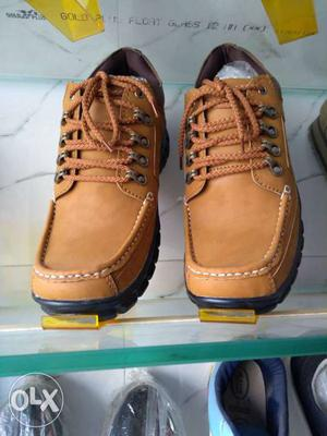 Brown Leather Shoes for sale