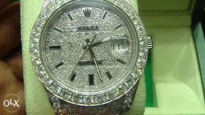 Discount rate. it is full of diamond rolex watch.