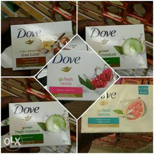 Dove Soap Imported Pieces All Flavours
