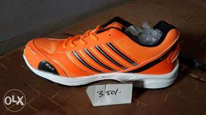 Orange Athletic Shoe