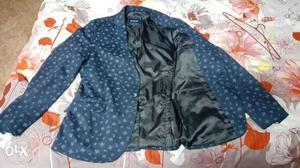 Parx printed blazer for sale or rent. Sale price