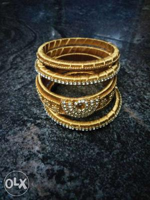 Silk thread bangle is avilable here in all