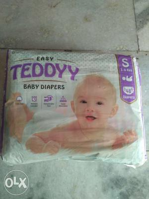 Band New Teddy easy baby diaper small size (48