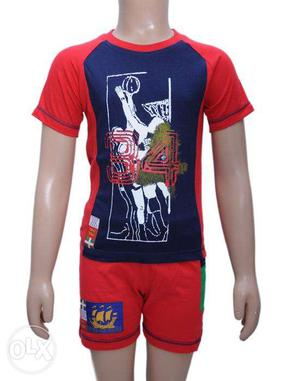 Boys T.Shirt With Bottom
