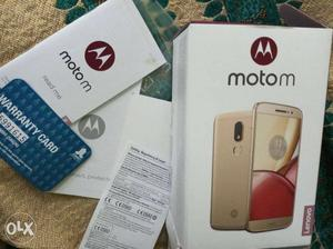 I want to sell my new moto M just 15 days old
