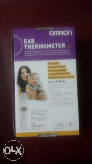 Omron baby ear digital thermometer. Never used.